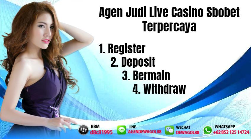 DewaGol Merupakan Agen Judi Live Casino Sbobet Terpercaya